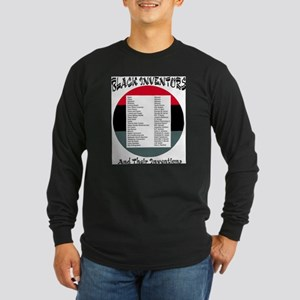 3-black Inventors Long Sleeve T-Shirt