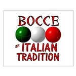 Bocce Small Poster