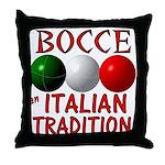 Bocce Throw Pillow