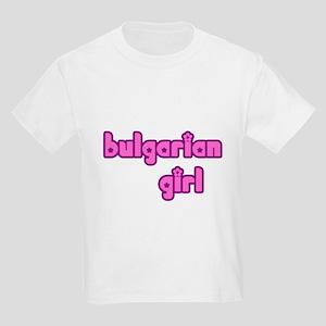 Bulgarian Girl Cute Kids Light T-Shirt