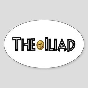 Iliad Oval Sticker