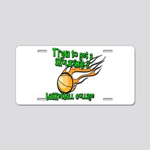 Funny Basketball College Scholarship Aluminum Lice
