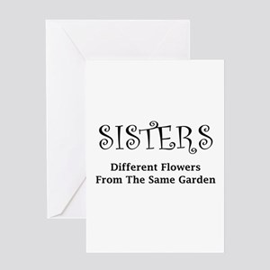Sisters Garden Greeting Cards
