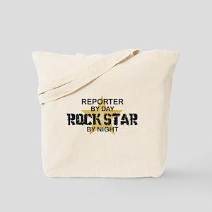 Reporter Rock Star Tote Bag