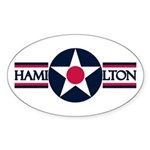 Hamilton Air Force Base Oval Sticker