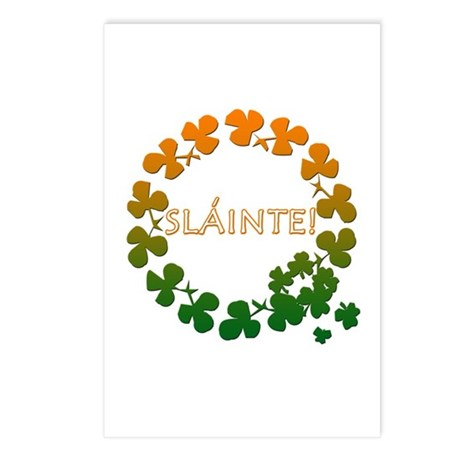 Slainte irish toast postcards package of 8 by leprechaungifts slainte irish toast postcards package of 8 m4hsunfo