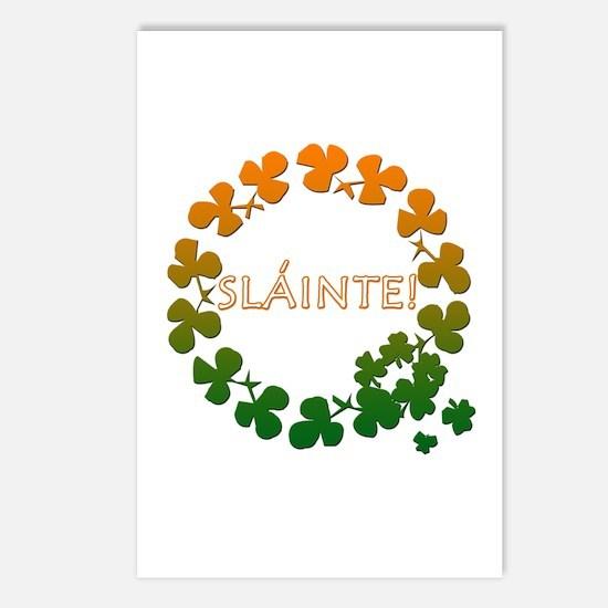 Slainte Irish Toast Postcards (Package of 8)