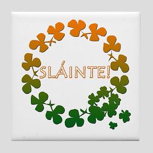 Slainte Irish Toast Tile Coaster
