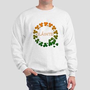 Slainte Irish Toast Sweatshirt