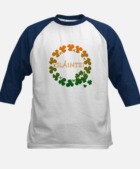 Slainte Irish Toast Kids Baseball Jersey
