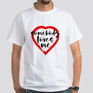 Somebody Loves Me Valentine's Day T-Shirt