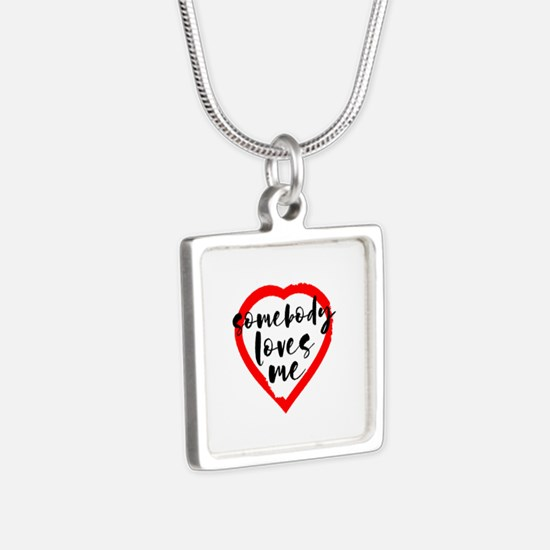 Somebody Loves Me Valentine's Day Necklaces
