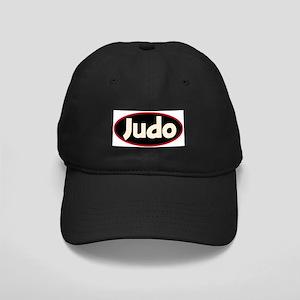 Black Judo Cap