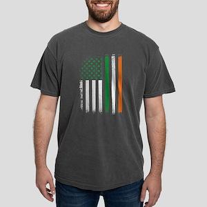Irish American Flag Mens Comfort Colors Shirt