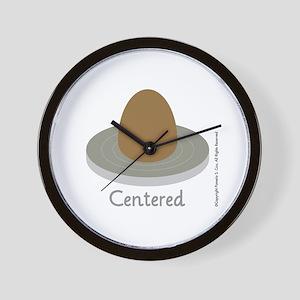 Centered Wall Clock