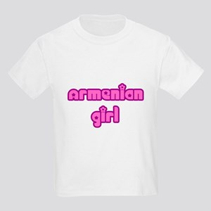 Armenian Girl Cute Kids Light T-Shirt