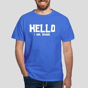 Hello i am drunk Dark T-Shirt