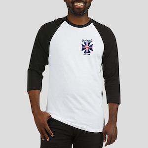 British Iron Maltese Cross Baseball Jersey