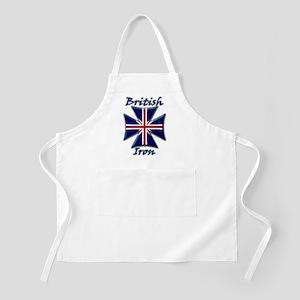 British Iron Maltese Cross   BBQ Apron