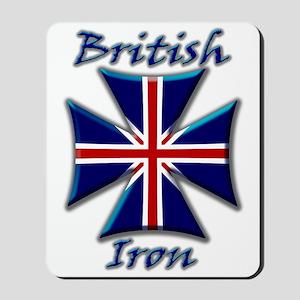 British Iron Maltese Cross   Mousepad
