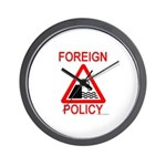 Foreign Policy Wall Clock