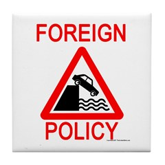 Foreign Policy Tile Coaster