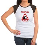 Foreign Policy Women's Cap Sleeve T-Shirt
