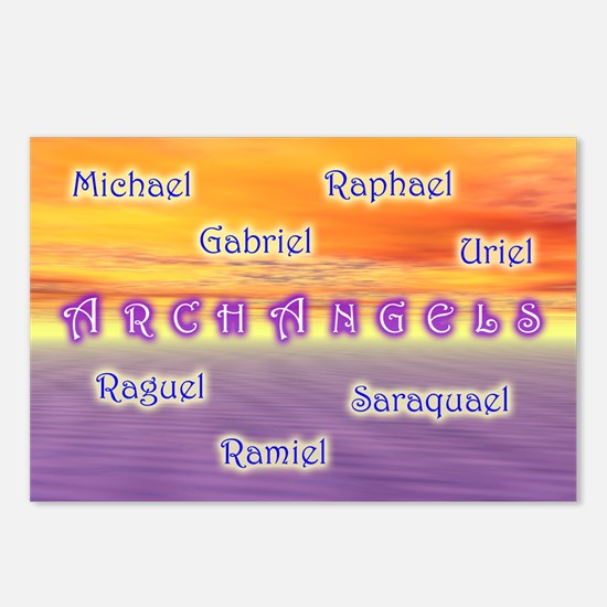 Archangels - Postcards (Package of 8)
