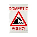 Domestic Policy Rectangle Magnet