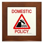 Domestic Policy Framed Tile