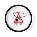 Domestic Policy Wall Clock