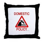 Domestic Policy Throw Pillow