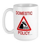 Domestic Policy Large Mug