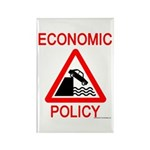 Economic Policy Rectangle Magnet