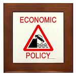 Economic Policy Framed Tile
