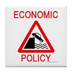 Economic Policy Tile Coaster