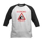Economic Policy Kids Baseball Jersey