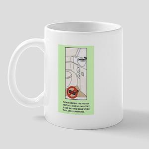 Lavatory Floor Mug