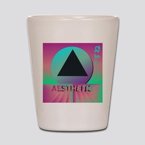 Vaporwave Aesthetic Shot Glass