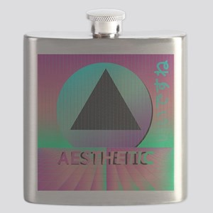 Vaporwave Aesthetic Flask
