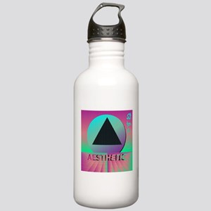 Vaporwave Aesthetic Stainless Water Bottle 1.0L