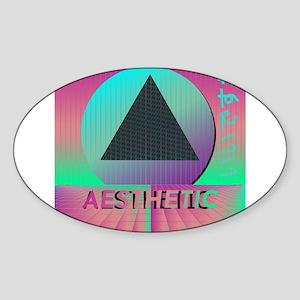 Vaporwave Aesthetic Sticker