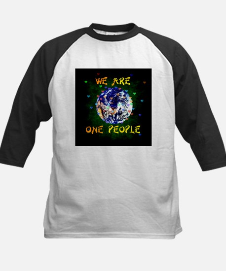 We Are One People Baseball Jersey