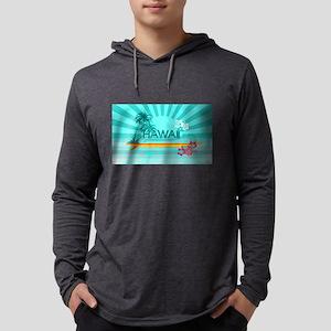 Hawaii Emerald sun fish ocean Long Sleeve T-Shirt