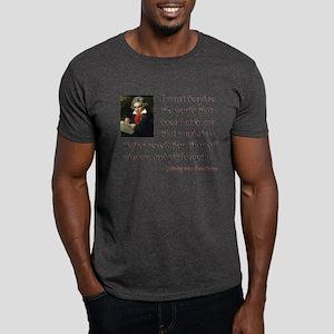 Beethoven--Music as Revelation Dark T-Shirt