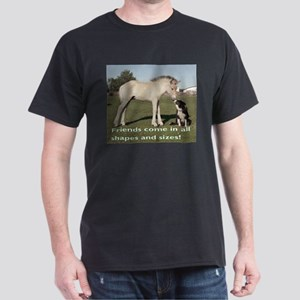 Fjord Horse Friends Ash Grey T-Shirt