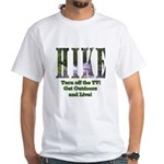 Go For A Hike White T-Shirt