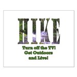 Go For A Hike Small Poster