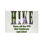 Go For A Hike Rectangle Magnet (100 pack)