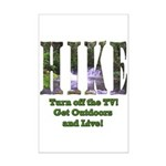 Go For A Hike Mini Poster Print